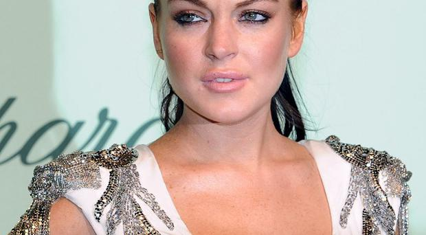 Lindsay Lohan says things are looking up for her