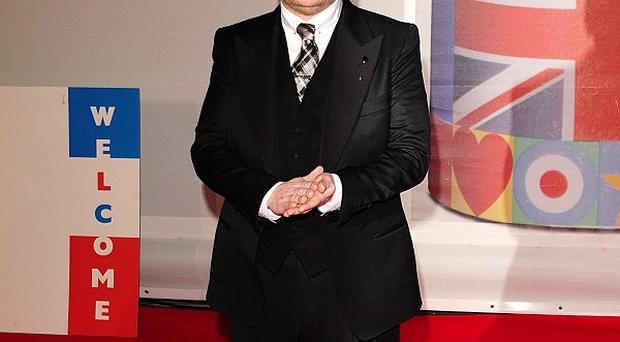 James Corden presented the 2012 Brits