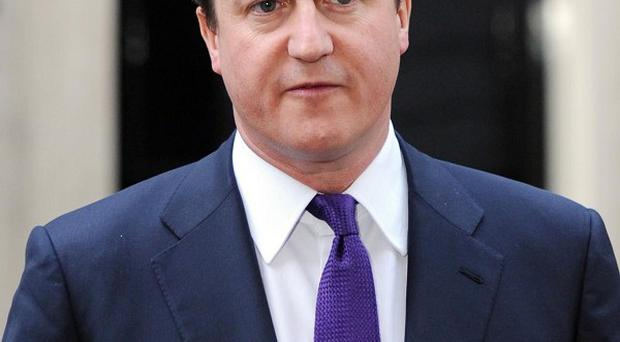 David Cameron said there are 'worrying' signs of racism returning to football, and has called for it to be crushed