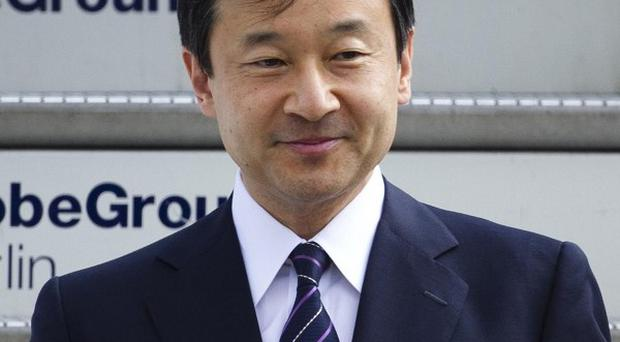 Japanese crown prince Naruhito is the heir to the throne (AP/Markus Schreiber)