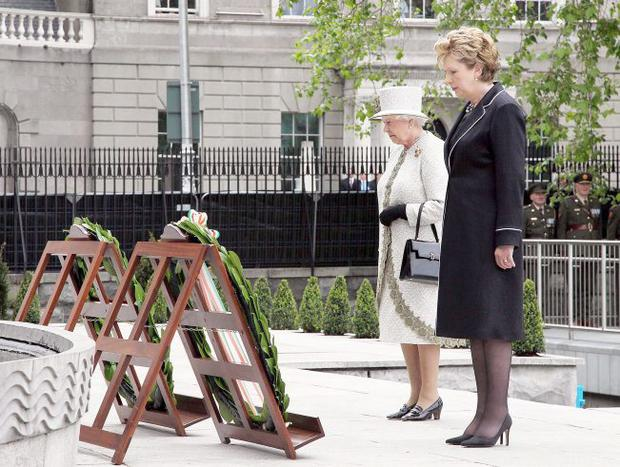 Royal praise: the Queen's visit to the Republic impressed many nationalists