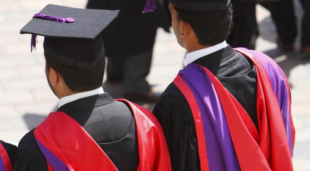 The number of degree courses on offer in England has been slashed, figures show
