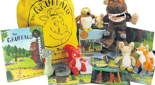 <b>1. Storysack</b><br/> From £42, storysack.com A cloth bag packed with items – book , CD, activity guide, games, props, scenery, soft toys and more – that bring a story to life.
