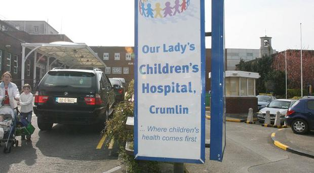 Medics have recorded a huge rise in youngsters being left in paediatric emergency departments, including Our Lady's Children's Hospital Crumlin