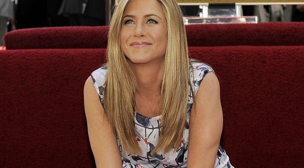 Jennifer Aniston has received a star on the Hollywood Walk of Fame
