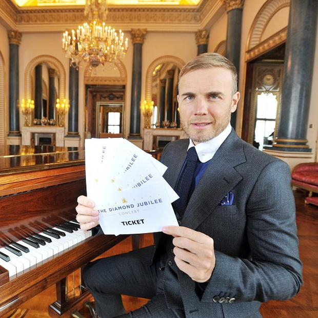Gary Barlow and Andrew Lloyd Webber aim to incorporate different musical traditions into their Diamond Jubilee song