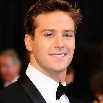 Armie Hammer is playing the lead role in The Lone Ranger