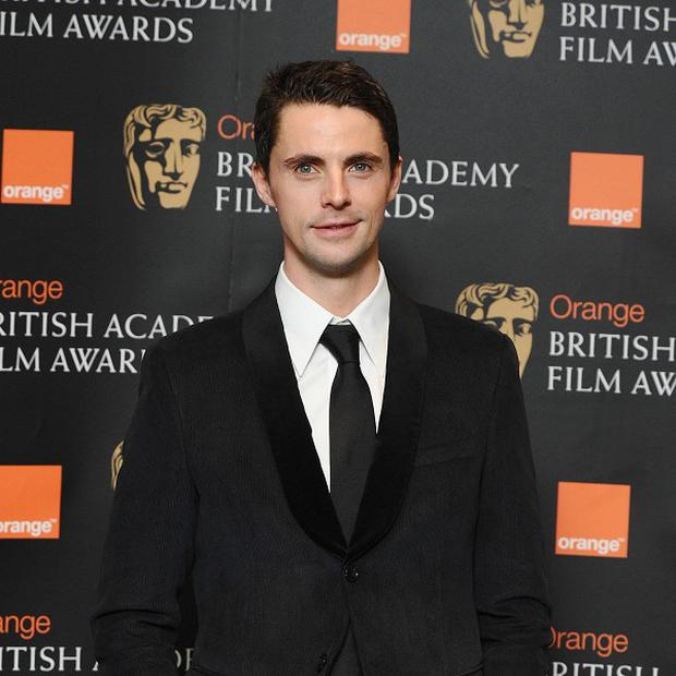 Matthew Goode admitted he was nervous about kissing Nicole Kidman