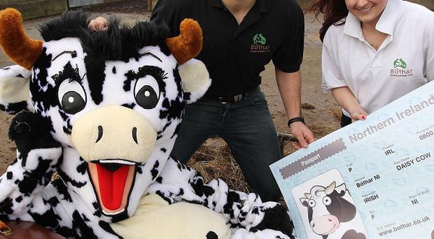 Rugby star and local dairy farmer Rory Best is calling for support for the NI 2012 Heifer Appeal