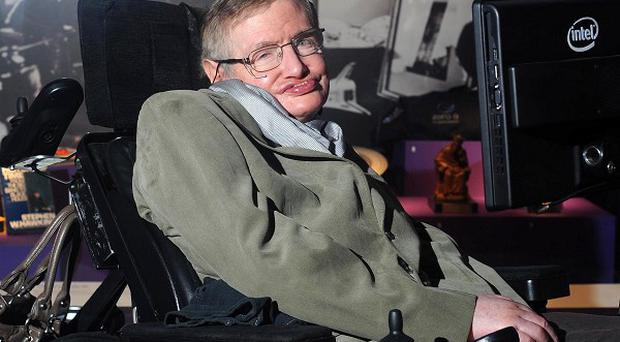 Professor Stephen Hawking visits the Science Museum in London to celebrate his 70th birthday