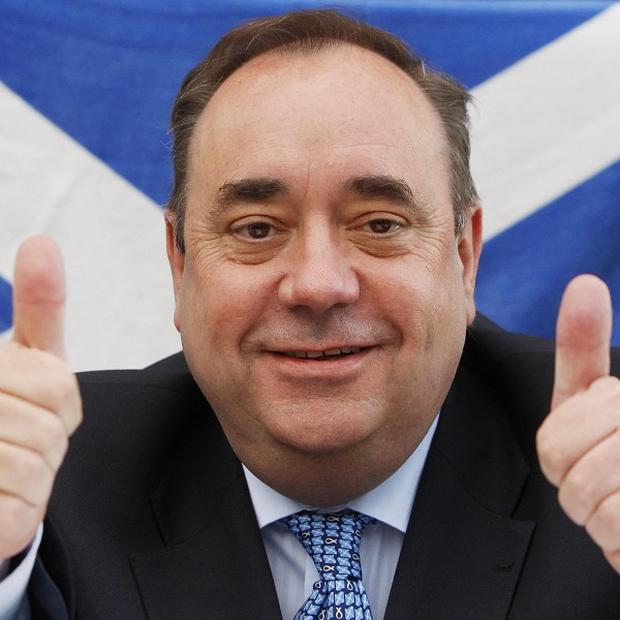 First Minister Alex Salmond has said the independence referendum 'will be autumn 2014'