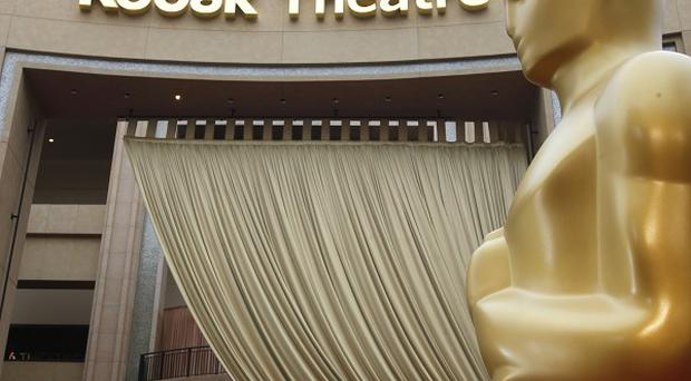 The Kodak Theatre in Los Angeles is seen ahead of the Academy Awards ceremony (AP)