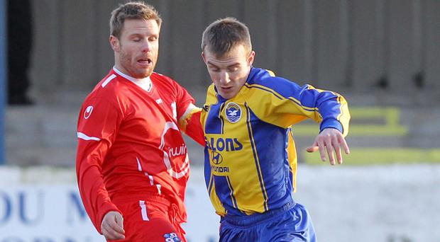 <b>Steven Ferguson</b><br /> Loughgall captain Steven Ferguson has been the stand out player for The Villagers in February.<br /> Midfielder Ferguson put in an exemplary performance against Harland & Wolff Welders in a 2-0 win at Lakeview. Ferguson follwed that display up, with an impressive turn at Inver Park in a 3-2 win over Larne. Ferguson celebrated that performance with a crucial goal.