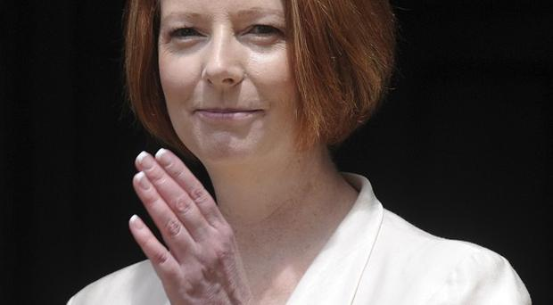 Julia Gillard defeated rival Kevin Rudd in a ballot of ruling Labour Party politicians (AP)