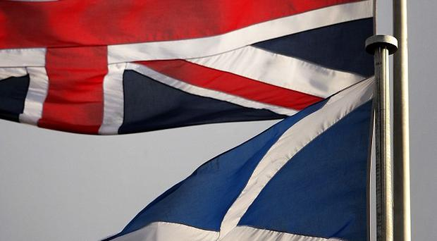 A poll suggests more than a quarter of the English want to end the union with Scotland