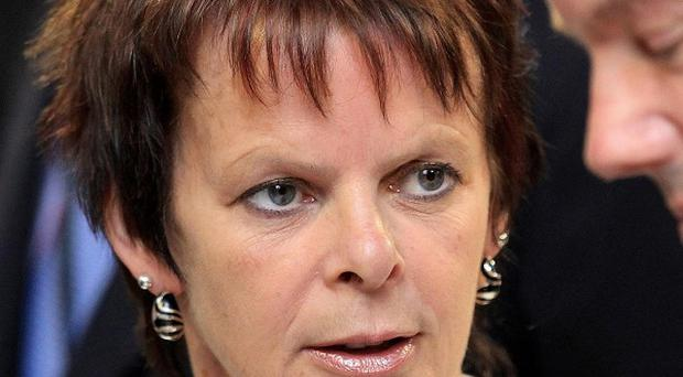 Public Health Minister Anne Milton said treating people with HIV means they are 'very unlikely' to pass the infection on to others