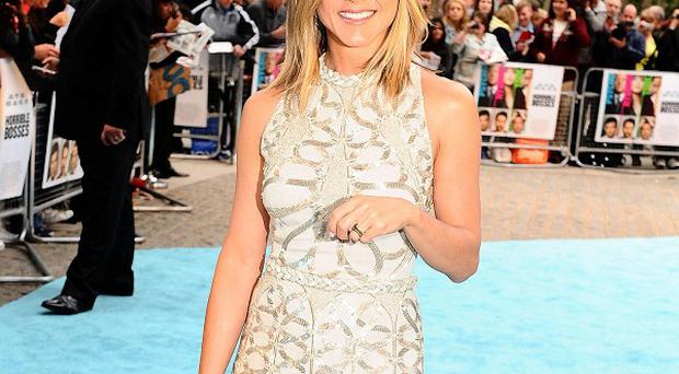 Jennifer Aniston's film opened at No 8 at the US box office