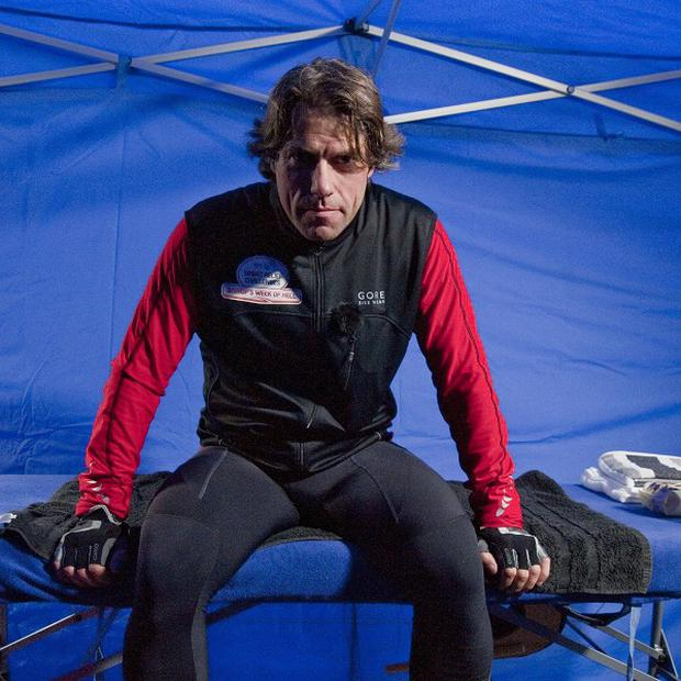 John Bishop was suffering after a tough cycle ride and lack of sleep (Rhian Ap Gruffydd/Comic Relief/PA Wire)