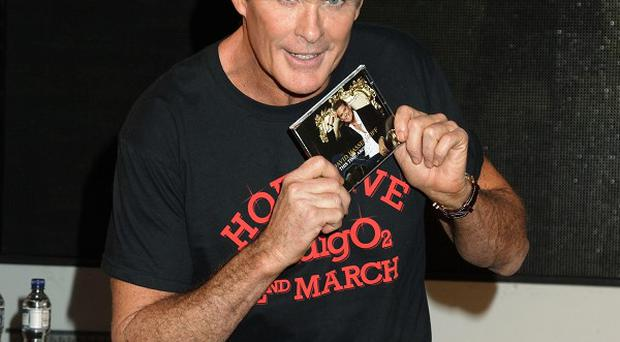 David Hasselhoff has said he was relieved not to be invited back as a judge on Britain's Got Talent
