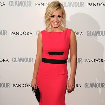 Katherine Jenkins is getting her dancing shoes on