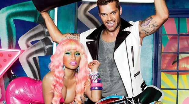 Ricky Martin and Nicki Minaj enjoyed working together on the campaign