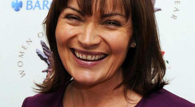 Lorraine Kelly, who was left bruised and battered when she fell off a horse, has been discharged from hospital