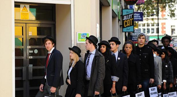 Youth employment rate figures has risen to almost 70 per cent