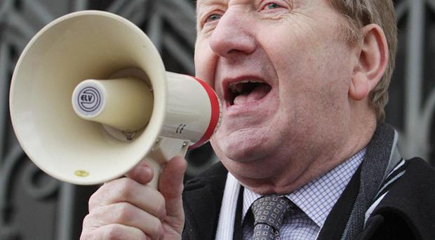 Len McCluskey of Unite has suggested industrial action could be staged during the Olympic Games