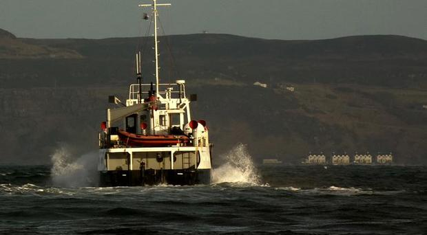 Rathlin Ferry. Photo by Anne Kelly