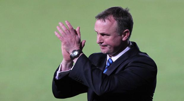 New Northern Ireland manager Michael O'Neill after losing 3 -0 to Norway