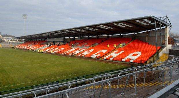 Armagh's Athletic Grounds, where the team play home league matches