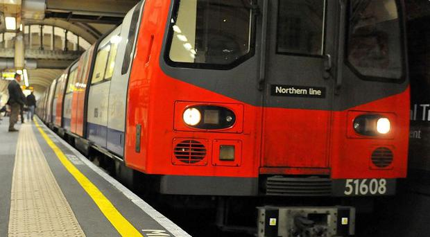 Aslef union said the driver of a London Underground train spotted the fallen child, despite the system saying the track was clear