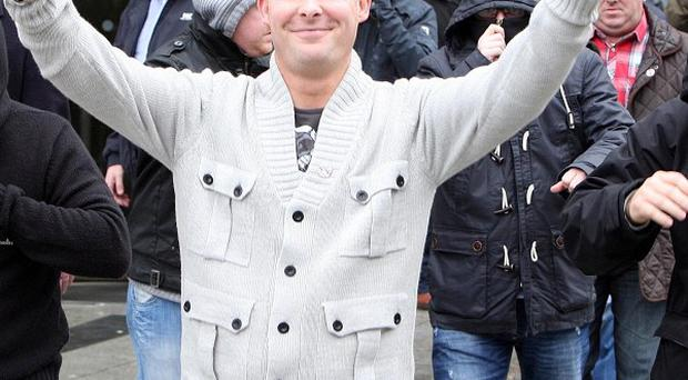 Jason Loughlin, 36, was acquitted over the murder of Tommy English