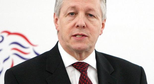 Peter Robinson suggested a 'story-telling archive' could be established on the site of the former prison where IRA hunger strikes took place