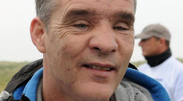 David Rathband was blinded when he was shot by gunman Raoul Moat