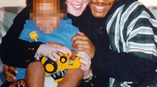 Samantha Lewthwaite with Jermaine Lindsay