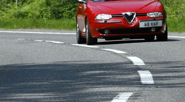 On more than half of major roads surveyed across Britain, the road markings were claimed to be barely visible
