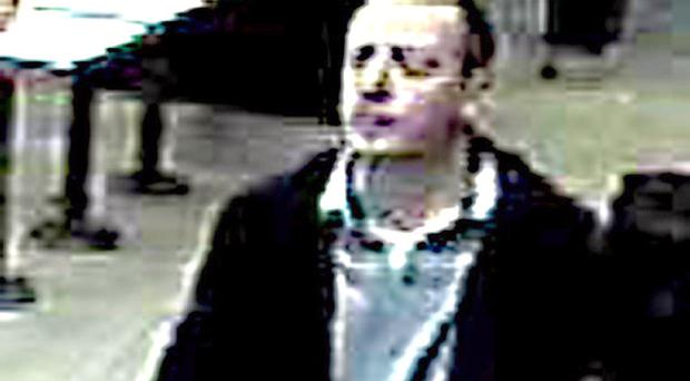 Police are keen to speak to this individual to further their investigation into a report of an assault which took place at 11.38pm on Friday, November 25, 2011, in a fast food premises in the Bradbury Place area of Belfast. Serial number B1/2012.