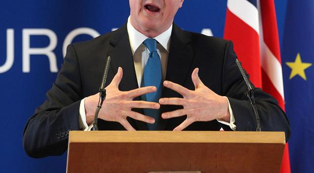 David Cameron said a dozen nations were now steering an agenda for swift action to restore jobs and prosperity (AP)