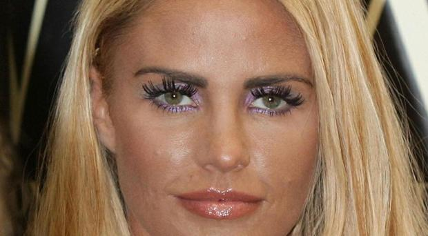Katie Price is recording a new album with Dane Bowers