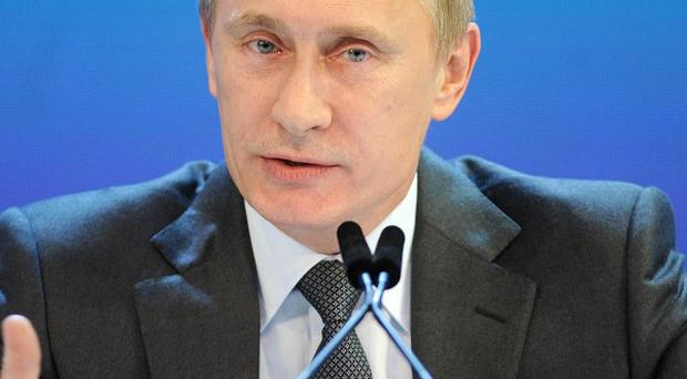 David Miliband has called Vladimir Putin a 'ruthless' dictator whose days are numbered