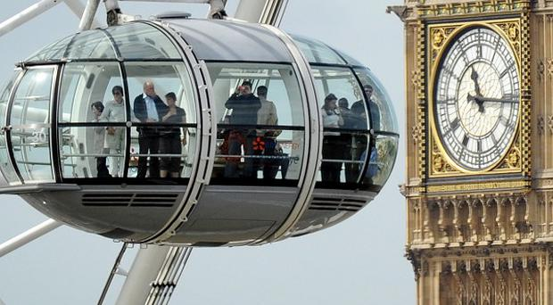 Attractions such as the London Eye are taking part in a tourism drive aimed at cashing in on the Olympic year