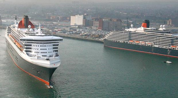Cunard's 'royal' liners will mark the Diamond Jubilee with a special event on the Solent
