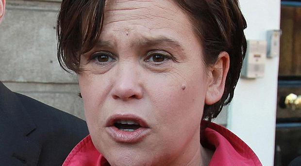 Sinn Fein deputy leader Mary Lou McDonald criticised the Government over the leaked report