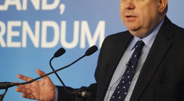 Alex Salmond promised a 'positive approach' as he announced the Scottish independence campaign will be launched in May