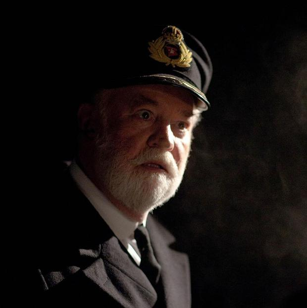 David Calder plays Captain Smith in the ITV1 drama about the Titanic (ITV/PA)