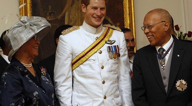 Prince Harry told Governor General Foulkes that the Duke of Edinburgh had had 'a new spurt of life'