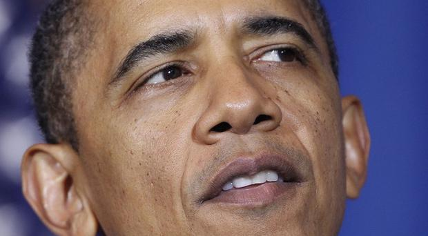 US president Barack Obama said 'now is not the time for bluster' (AP)