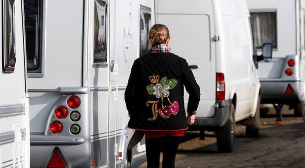 A report by the Equality and Human Rights Commission warned the rights of gypsies and travellers 'were sometimes overlooked'