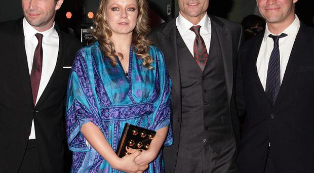 James Purefoy, Samantha Morton, Mark Strong and Dominic West arriving for the UK premiere of John Carter